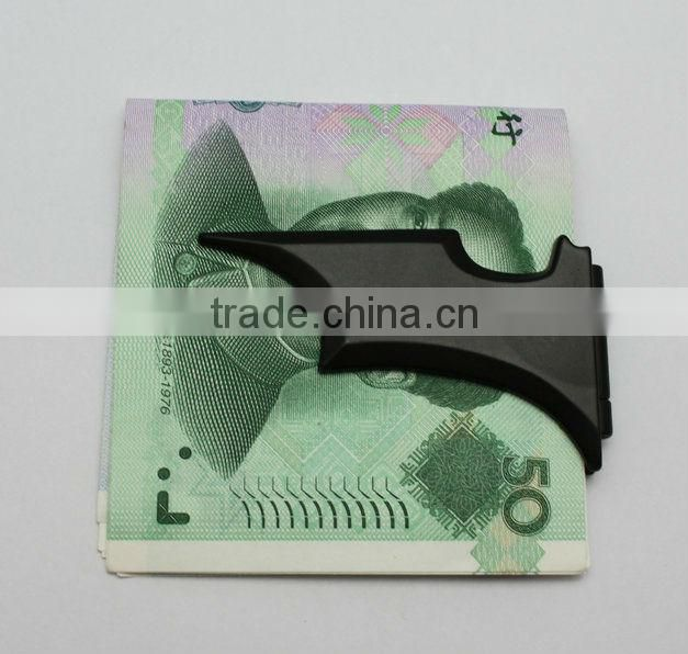 New arrival large metal money clip for men with round customized epoxy logo