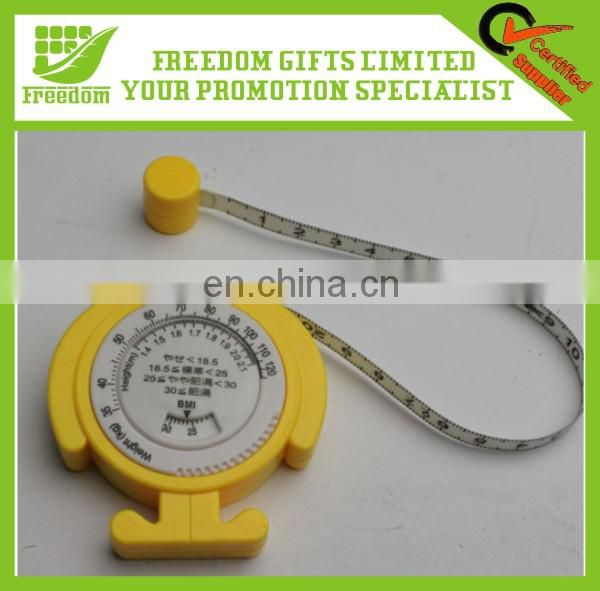 New Printing Logo Advertising Mini Tape Measure Keychain
