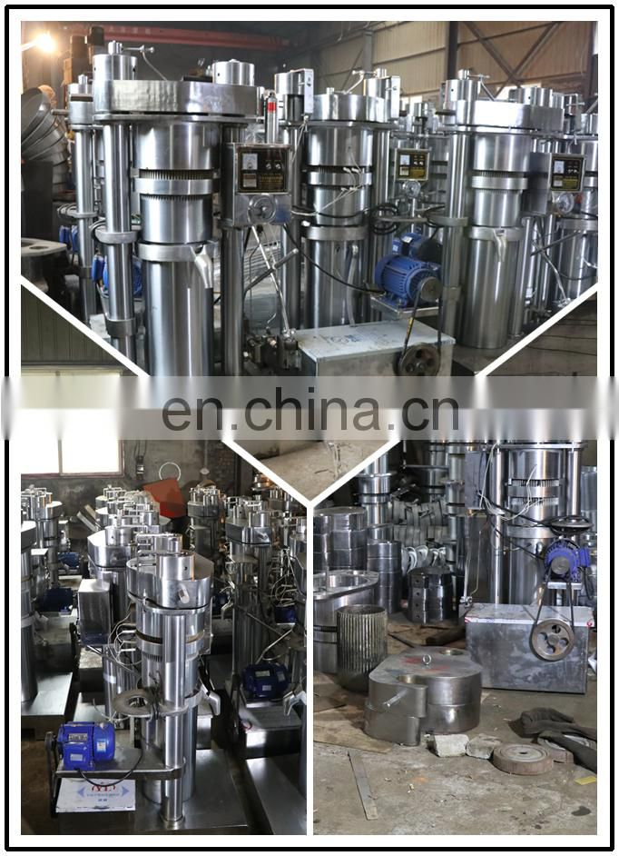 2018 high yield hot sale oil extraction machine oil pressing machine