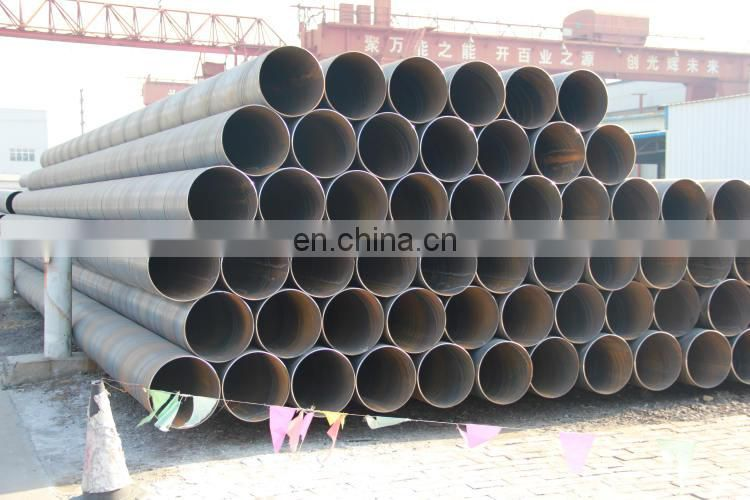 Fluid piping spiral steel pipes 200mm-2000mm diameter hollow tube RJ STEEL