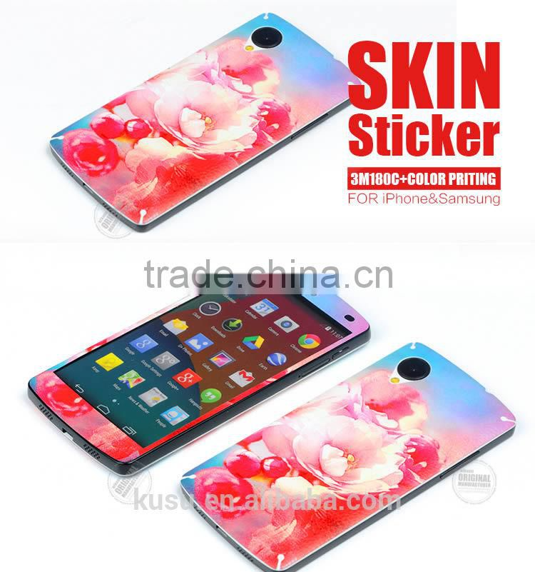 Newest Cell phone 3m vinyl Skin Sticker for google5
