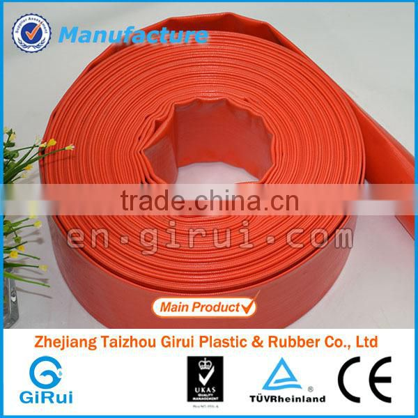 Hot sell delicate multicolor water saving drip irrigation layflat hose pipe