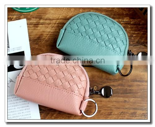 candy color weave wallet ,leather wallet, metal wallet for wholesale