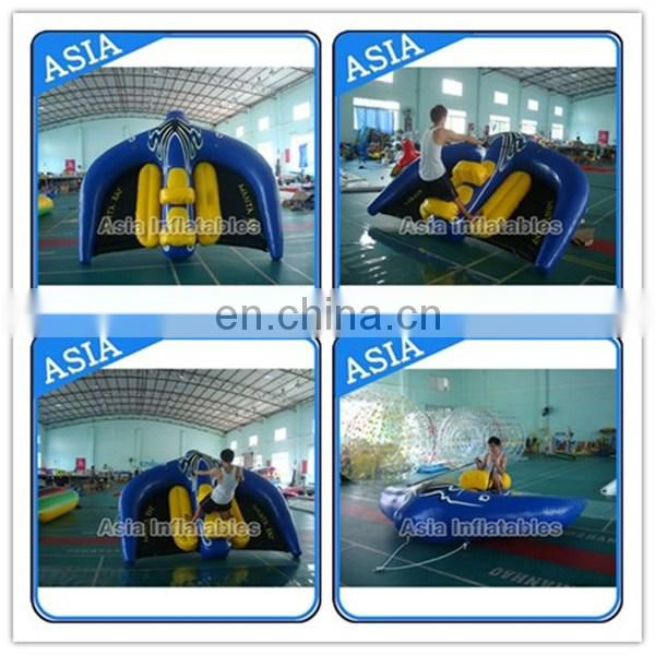 Flying Manta Ray Inflatable Watercraft / Exciting Inflatable Water Sport