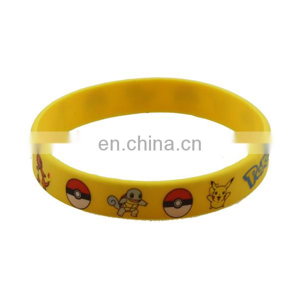 Fashion charm bulk cheap silicone wristbands wholesale