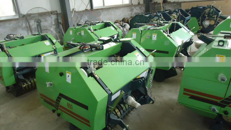 Competitive Price For Hot Selling Small Round Baler Machine/alfalfa available round hay grass baler for tractors