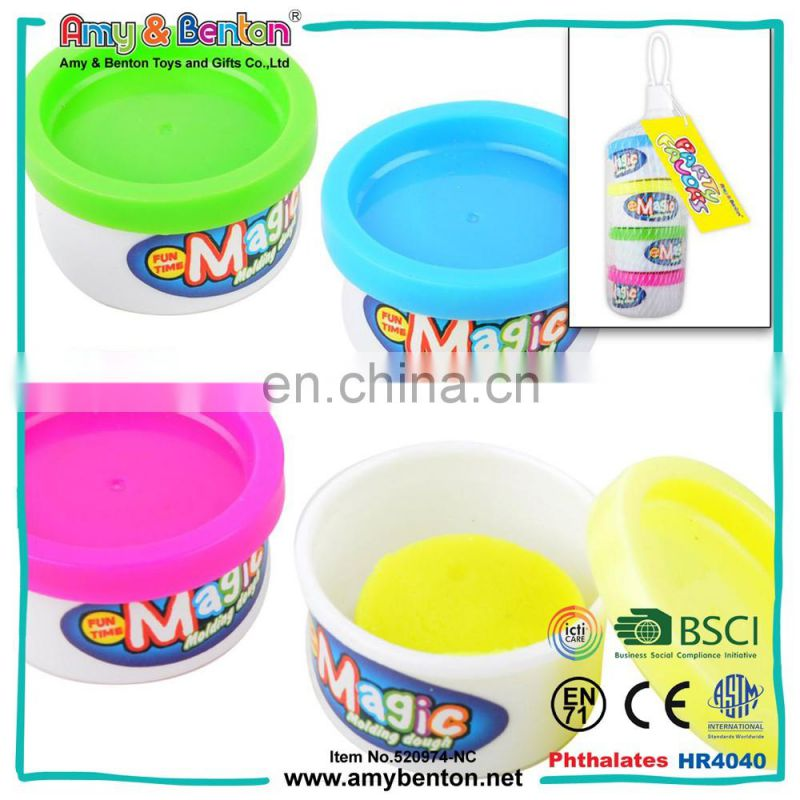 Wholesale kids educational clay toys color play dough