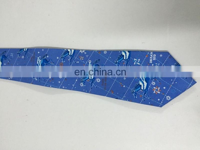 Promo Gift High Quality Custom Made Woven Silk Tie and Handkerchief Set