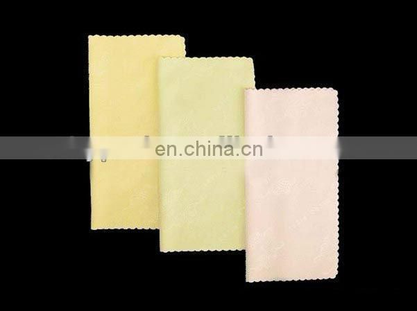 Blank Custom logo silk screen printing microfiber cleaning cloth