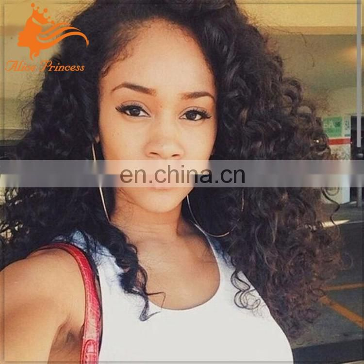 "Unprocessed Human Hair U Part Wig Virgin Malaysian Hair Kinky Curly U Part Wig For Black Women Cheap upart 10"" to 24"" In Stock"