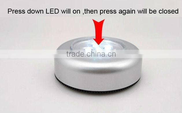 LED Press light night lights Press Down Touch Lamp Night Light