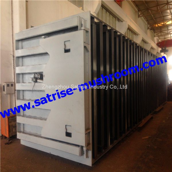 industrial Cubic mushroom steam autoclave for production