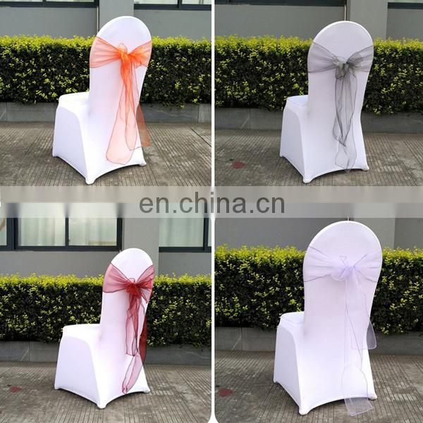 Beach Garden Banquet Party Organza Fabric Decoration Wedding Chair Sashes