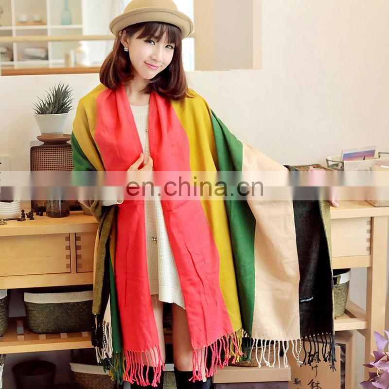 Winter scarf fabric 100% acrylic scarf factory china scarf
