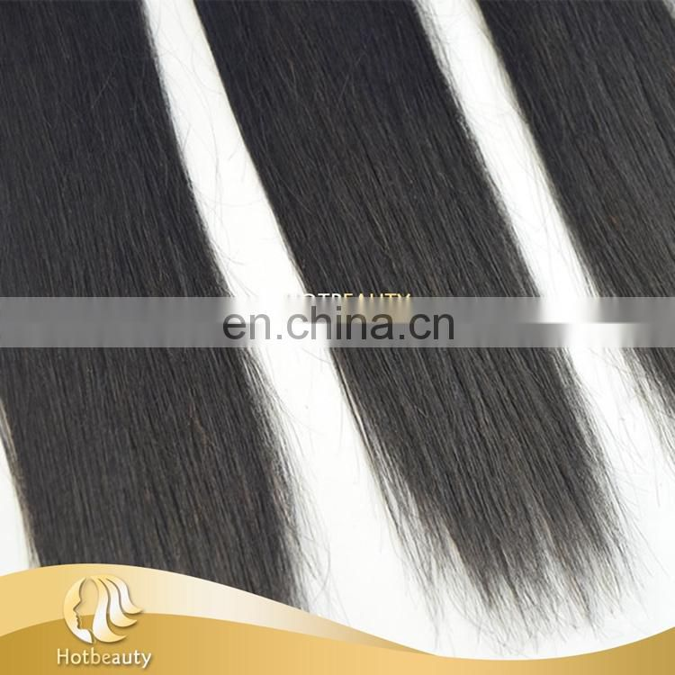 Wholesale 100% Natural Silky Straight Wave Haircuts For Fine Straight Hair