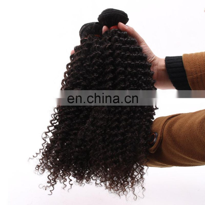 24 inch human braiding hair kinky curly brazilian curly hair