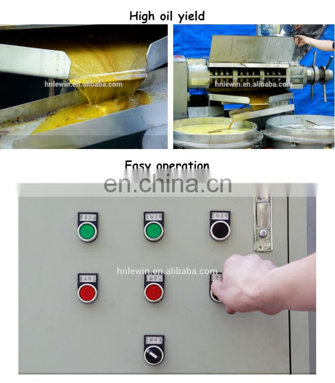 cold hot press screw oil press machine oil crops oil expeller