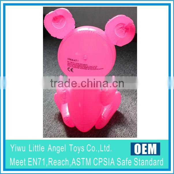 pvc inflatable punch bag toy