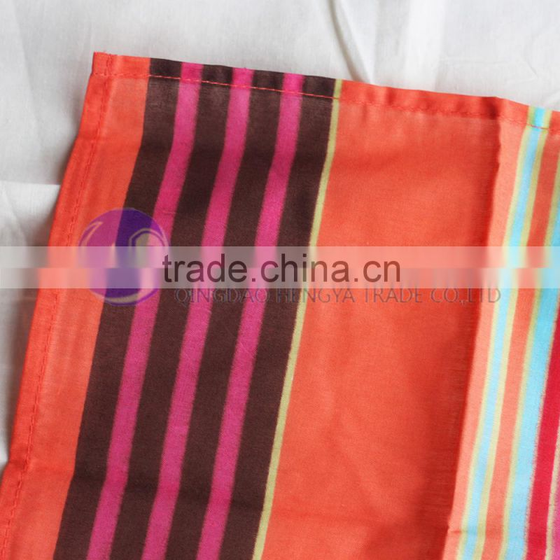 custom printed fabric table napkin