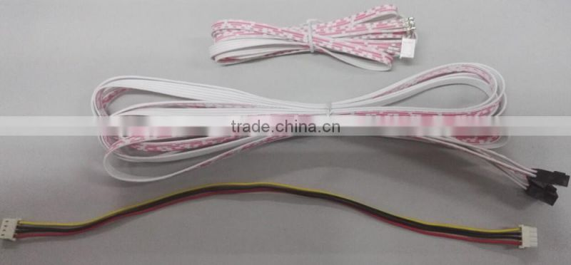 JST molex TE hirose yeonho ket wire harness connector wire to wire flat robbon wire flat cable manufacturer
