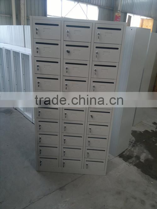 30 Doors Steel Index Card File Cabinet