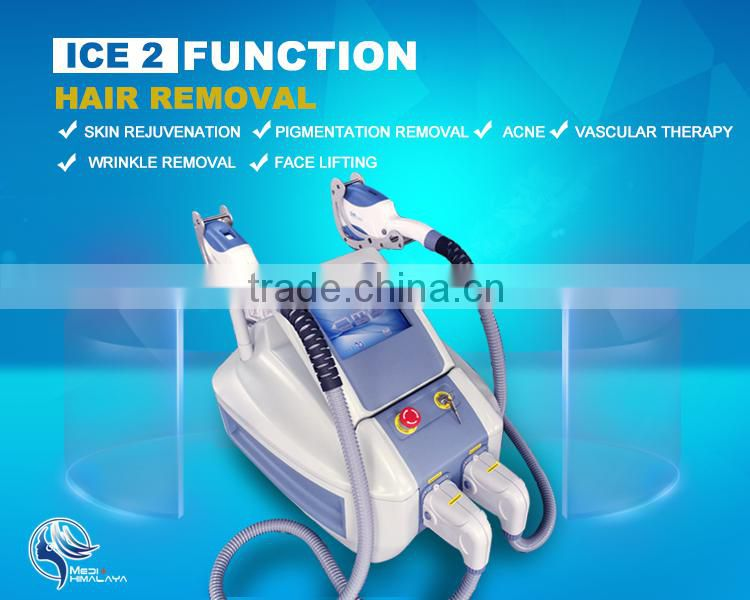 2016 new permanent shr ipl hair removal equipment