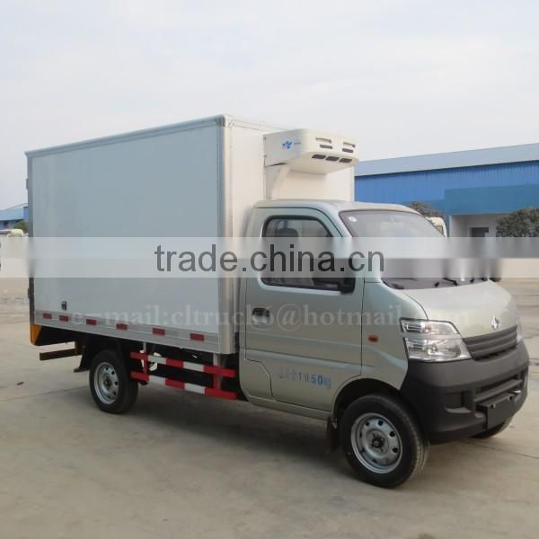 68hp ChangAn 4*2 Mini Cooling Truck 1.5ton