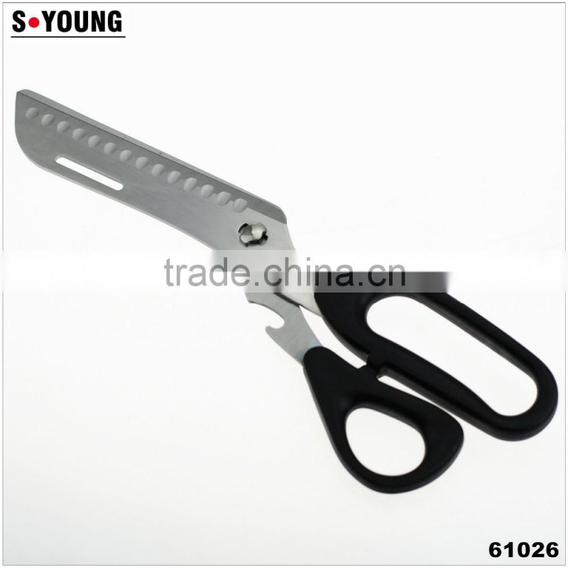 61026 Separable kitchen scissors with PP handle kitchen scissors /knife and scissors