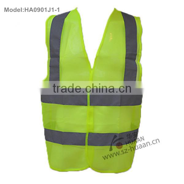 colorful Reflective safety vests for working