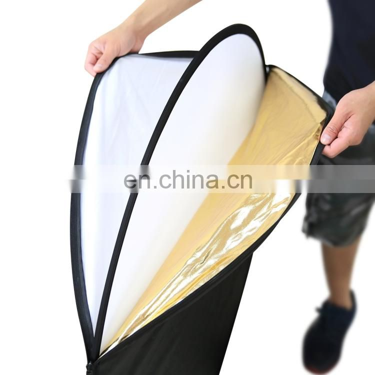 2018 trending products accessories PULUZ 80cm 5 in 1 Folding Photo Studio Reflector Board