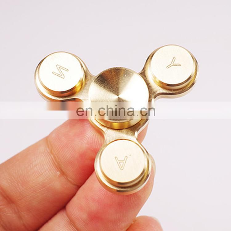 Hot Selling Focus Toys Stress Relief Metal Aluminum Fidget Spinner