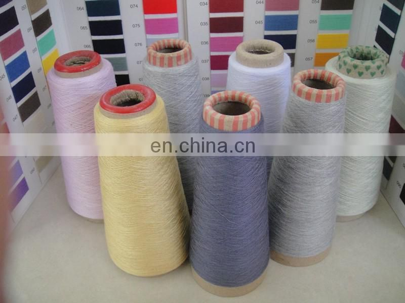 Poly/cot Yarn 65/35 80/20 50/50 16s 24s for socks production Direct factory sell