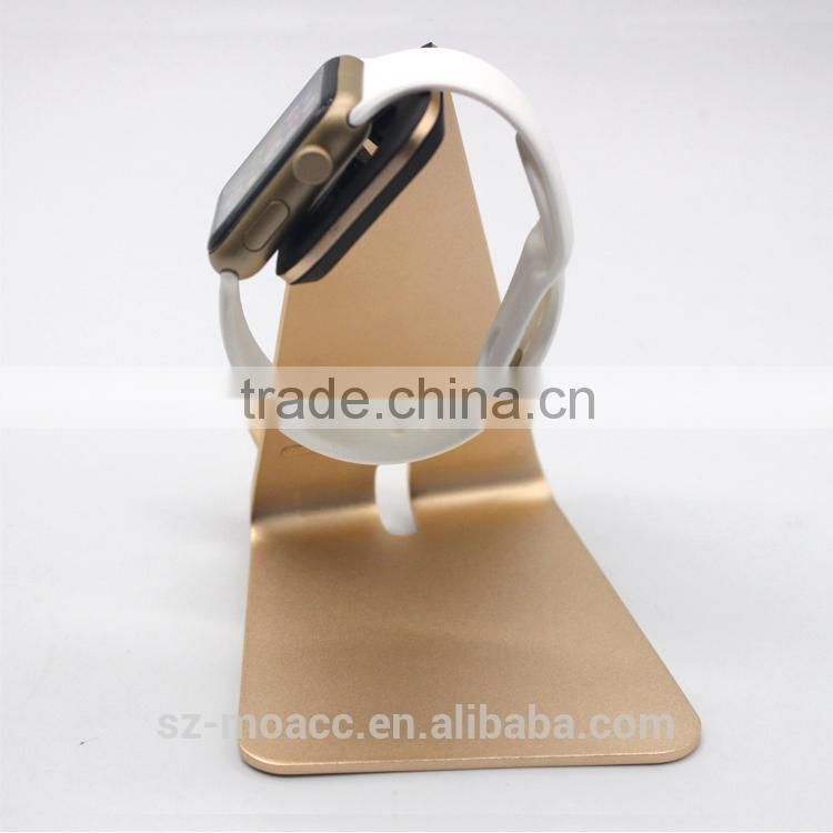 2015 new products for apple watch charging stand, Aluminum stand for apple watch