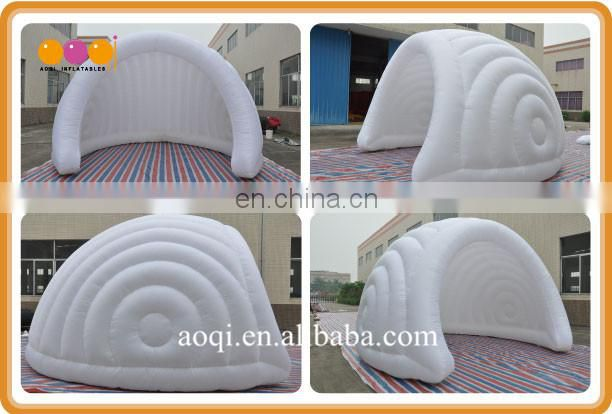 Outdoor dome white inflatable tent made in china for sale