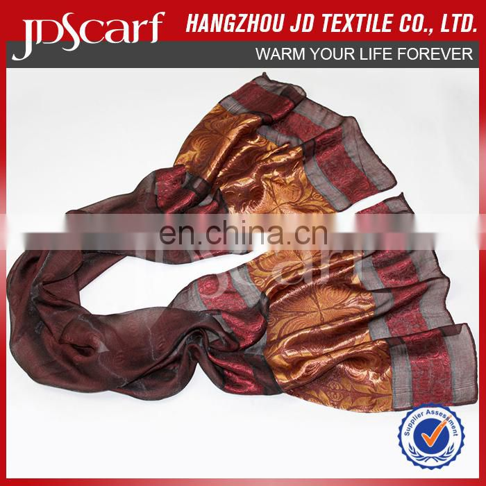 China manufacturer spring winter new design Jersey Fringe Scarf