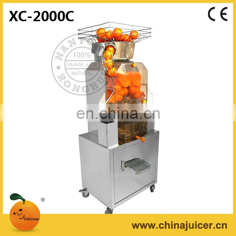 Supermarket orangejuicer,China juicer,Auto Orange Juicer XC-2000C
