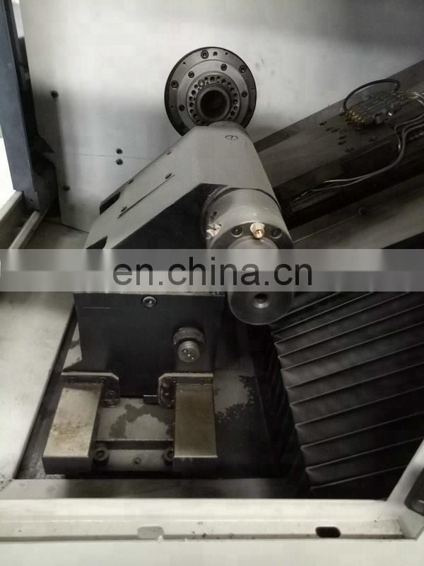 Fanuc Controller Cnc Turning Lathe Machine Price with Taiwan Tool Image