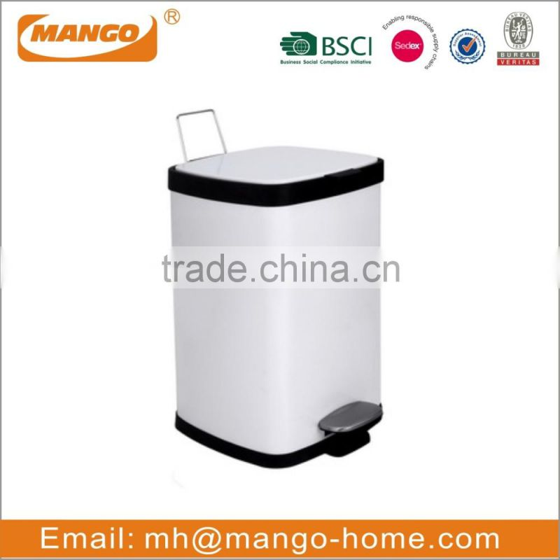 Classical Stainless Steel Pedal Trash Can