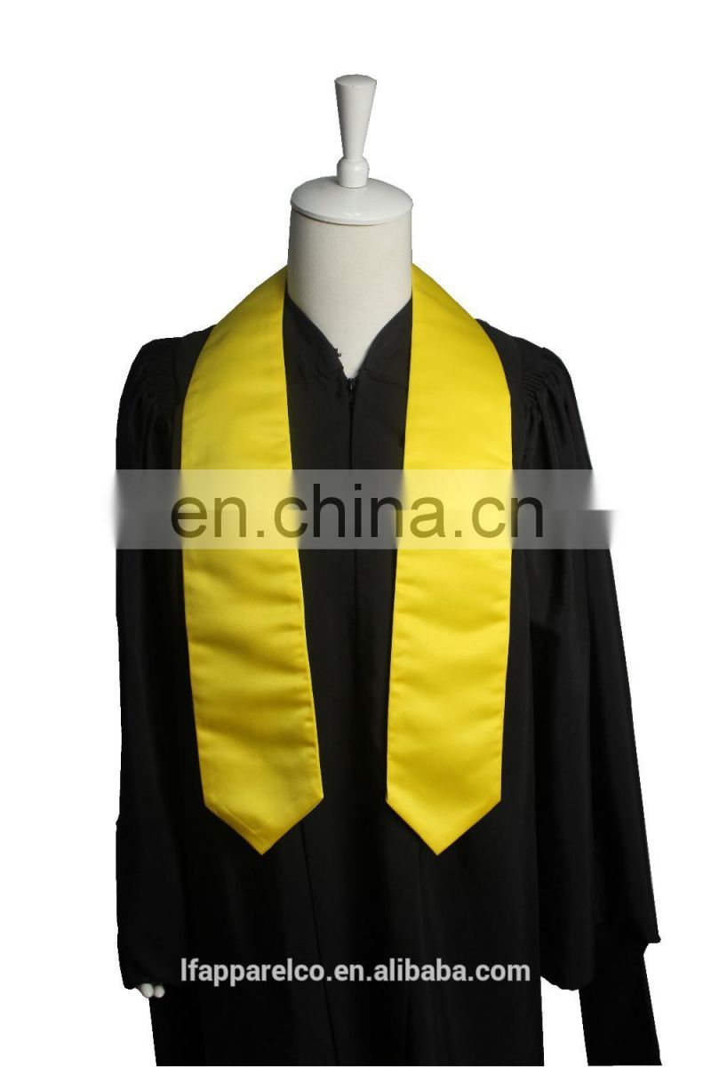 Factory Plain Stoles & Sashes For Graduation