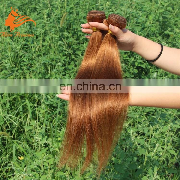 "Wholesale Price 8""-30"" 100% Human Remy brazilian Two Tone Ombre Hair Weft Silk Straight"