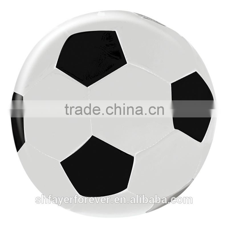 White with Black Color Official Training Club Pratice Soccer Ball Official Weight and Size 1#,2#,3#,4#,5#