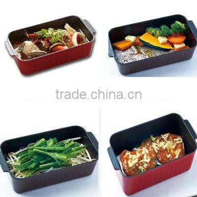 japanese kitchenware cven toaster dish container toaster pan