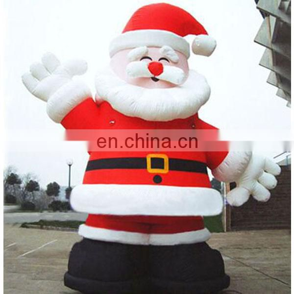 advertising large inflatable christmas santa claus for sale
