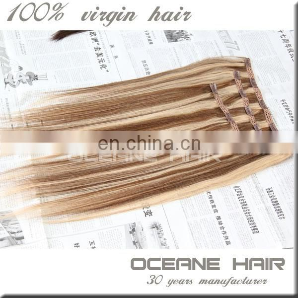 Buy Chinese products online wholesale price cheap price clip in hair pinao colour express alibaba good thick hair clip in hair