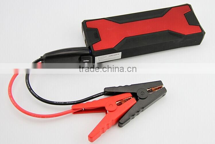 Real capacity 18000mAh portable heavy duty power bank car jump starter for diesel car engine