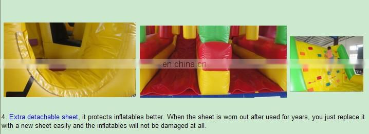 Outdoor Military Inflatable Obstacle Course