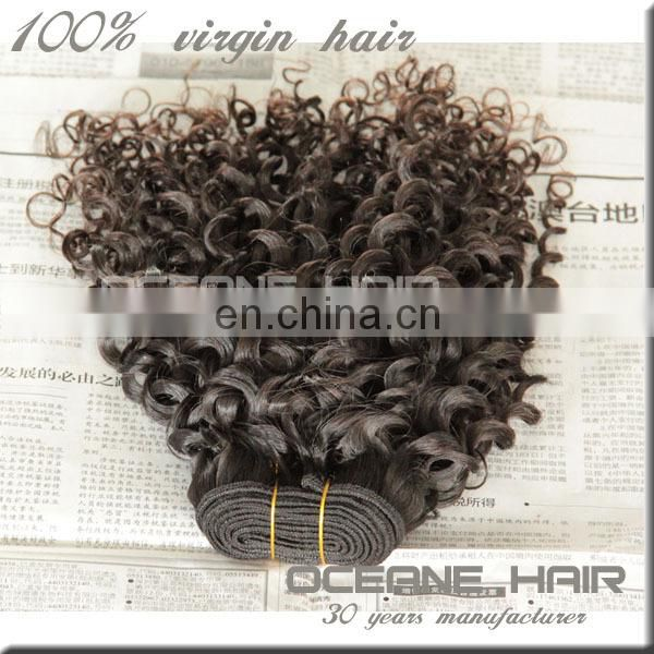 Most stylish high quality real natural afro kinky human hair weave