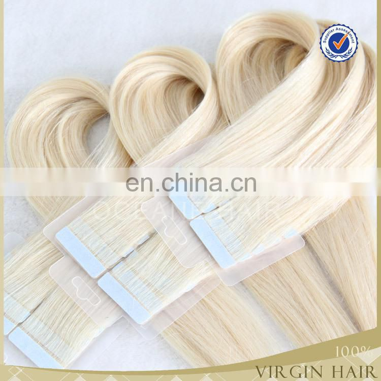 hot sale tape hair extensions 1gm double drawn remy tape hair extensions