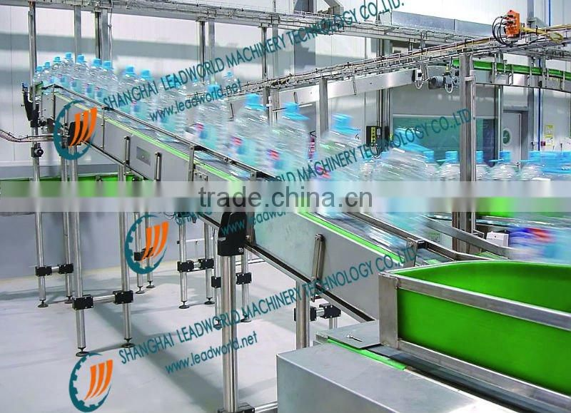 Drink cans air recoil conveyor