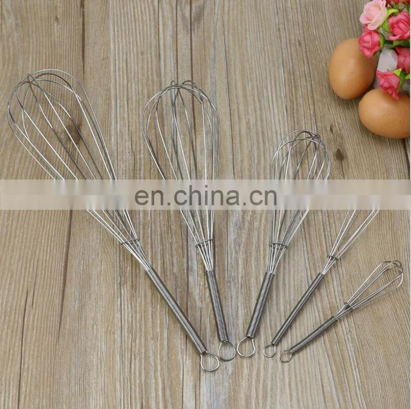 Stainless Steel Manual Whisk Flour Mixer Kitchen Tools